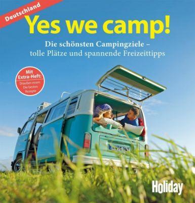 HOLIDAY Reisebuch: Yes we camp! Deutschland, Eva Stadler, Peter Dorsch