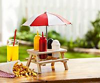 Holz Gewürzhalter mit Schirm - Produktdetailbild 1