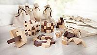 Holz-Knobelspiele, 10er-Set - Produktdetailbild 1