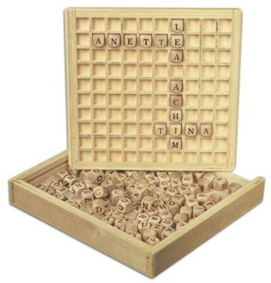Holz-Lernspiel Wörter legen, small foot