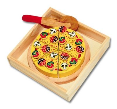 Holz-Pizza-Set, 3-teilig
