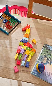 Holz-Puzzle Giraffe A-Z - Produktdetailbild 1