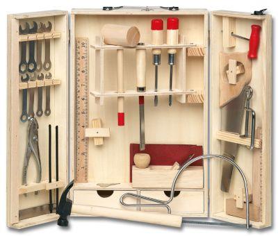 Holz-Werkzeugschrank