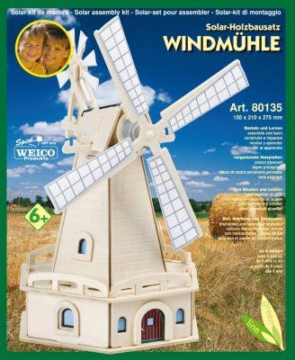 Holzb. Solar Windmühle Friesland