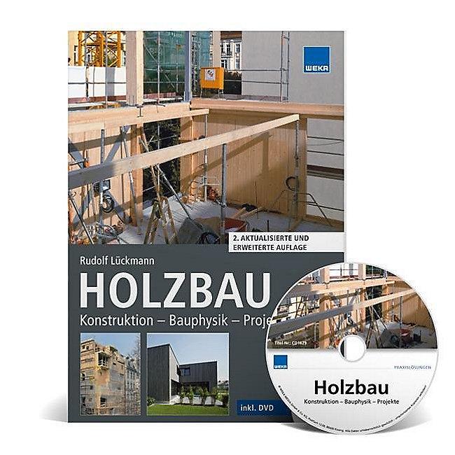 Holzbau M Cd Rom Buch Von Rudolf Luckmann Portofrei Kaufen