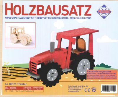 holzbausatz traktor jetzt bei bestellen. Black Bedroom Furniture Sets. Home Design Ideas