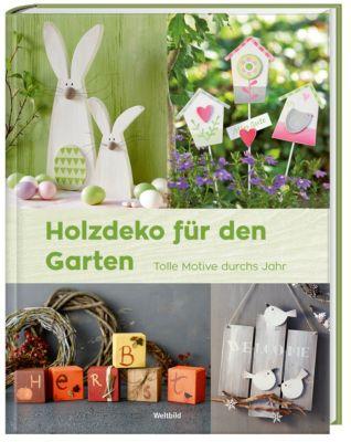 Holzdeko für den Garten
