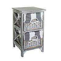 badezimmerschrank mit 5 schubladen weiss. Black Bedroom Furniture Sets. Home Design Ideas