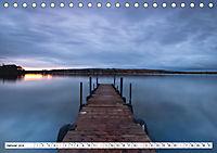 Holzstege am Wasser (Tischkalender 2019 DIN A5 quer) - Produktdetailbild 1