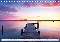 Holzstege am Wasser (Tischkalender 2019 DIN A5 quer) - Produktdetailbild 9