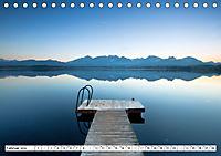 Holzstege am Wasser (Tischkalender 2019 DIN A5 quer) - Produktdetailbild 2