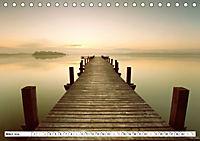 Holzstege am Wasser (Tischkalender 2019 DIN A5 quer) - Produktdetailbild 3