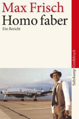 Homo faber, Großdruck, Max Frisch