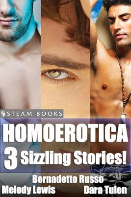 Homoerotica - A Sexy Bundle of 3 Gay M/M Erotic Stories from Steam Books, Bernadette Russo, Dara Tulen, Melody Lewis