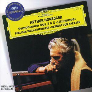 Honegger: Symphonies Nos.2 & 3 / Stravinsky: Concerto in D for String Orchestra, Fritz Wesenigh, Herbert von Karajan, Bp