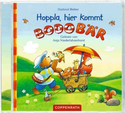 Hoppla, hier kommt Bodo Bär!, 1 Audio-CD, Hartmut Bieber