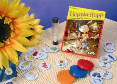 Hoppla-Hopp (Kinderspiel), in Metallbox, Reinhard Staupe