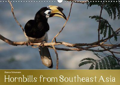 Hornbills from Southeastern Asia (Wall Calendar 2019 DIN A3 Landscape), Bianca Schumann