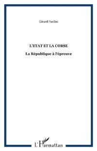 Hors-collection: Etat et la corse, PARDINI GERARD