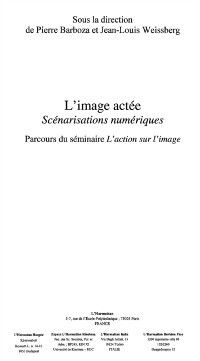 Hors-collection: Image actee l', Weissberg, Barboza