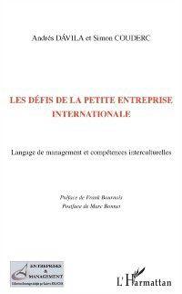 Hors-collection: Les defis de la petite entreprise internationale - langage d, Couderc, Simon Couderc