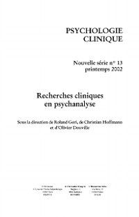 Hors-collection: Psycho. clinique no. 13, Collectif