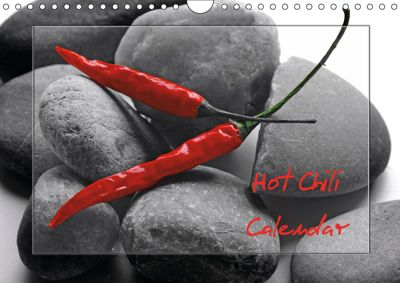 Hot Chili Calendar Great Britain Edition (Wall Calendar 2019 DIN A4 Landscape), Tanja Riedel