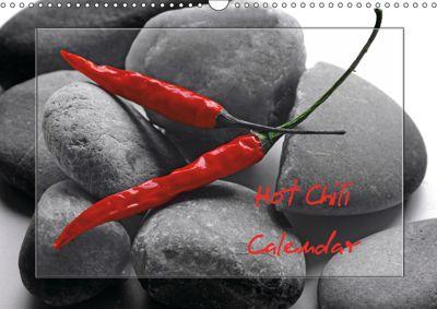 Hot Chili Calendar (Wall Calendar 2019 DIN A3 Landscape), Tanja Riedel