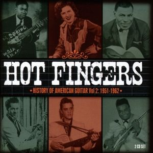 Hot Fingers-History Of American Guitar Vol.2, Diverse Interpreten