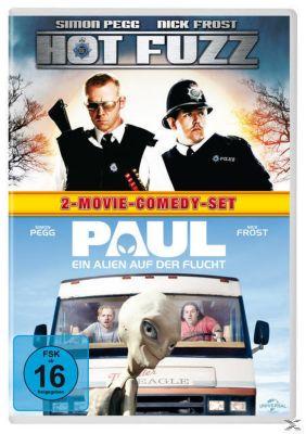 Hot Fuzz, Paul - Ein Alien auf der Flucht DVD-Box, Edgar Wright, Simon Pegg, Nick Frost