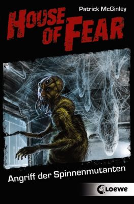 House of Fear Band 3: Angriff der Spinnenmutanten, Patrick McGinley