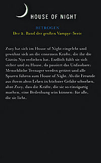 House of Night - Betrogen - Produktdetailbild 1