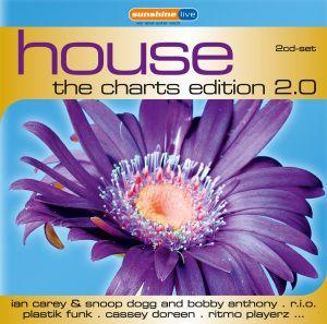House: The Charts Edition 2.0, Diverse Interpreten