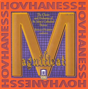Hovhaness:Magnificat/+, Pearson, Choir St.John's Cathedral