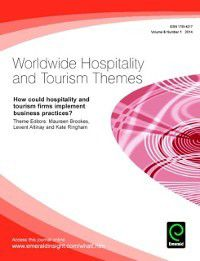 How could hospitality and tourism firms implement business practices?