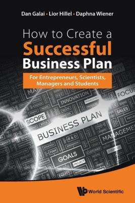 How to Create a Successful Business Plan, Dan Galai, Lior Hillel, Daphna Wiener