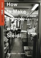 How to Make a Book with Steidl, 1 DVD, Gereon Wetzel, Jörg Adolph