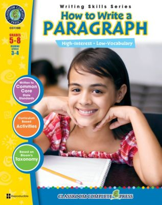 How to Write a Paragraph, Brenda Rollins