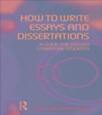 fabb and durant how to write essays and dissertations Fabb, nigel how to write essays and dissertations : fabb and durant offer a clear account of what makes a successful essay in literary studies.