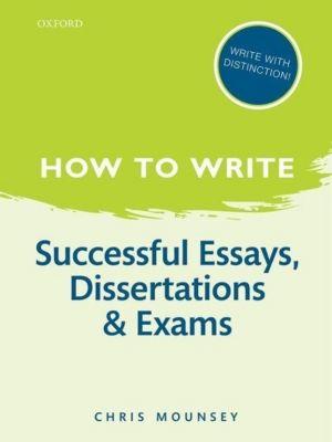 how to write an essay exam