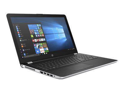 HP 15-bs104ng Notebook 39,62cm 15,6Zoll FHD AG I5-8250U 8GB 1TBHDD+SSD256GB-M2 DVD-RW AMDRadeon520-2GB W10H silver (P)