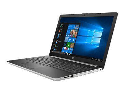 HP 15-da0011ng Notebook 39,62cm 15,6Zoll FHD AG IC I5-8250U 8GB 1TBHDD+128GBSSD NvidiaMX130-2GB W10H nat silver Projekt AMA (P)