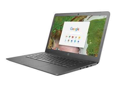 HP Chromebook 14 G5 Intel Celeron N3350 35,5cm 14Zoll BV-Touch UMA 4GB 32GB/eMMC WLAN BT Chrome64 1J. Gar. (DE)