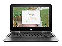 HP ChromeBook x360 11 G1 Intel Celeron N3350 29,46cm 11,6Zoll HD BV Touch + Digitizer 4GB 32GB/eMMC WLAN BT Chrome64 1J. Gar. (DE) - Produktdetailbild 3