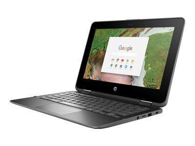 HP ChromeBook x360 11 G1 Intel Celeron N3350 29,46cm 11,6Zoll HD BV Touch + Digitizer 4GB 32GB/eMMC WLAN BT Chrome64 1J. Gar. (DE)