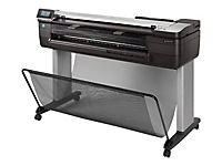 HP DesignJet T830 61cm 24Zoll Multifunktion Printer - Produktdetailbild 4