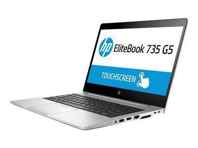 HP EliteBook 735 G5 AMD R5-2500U 33,7cm 13,3Zoll FHD AG UMA 8GB 256GB/PCIe-NVMe WLAN BT FPR W10PRO64 3J Gar. (DE)