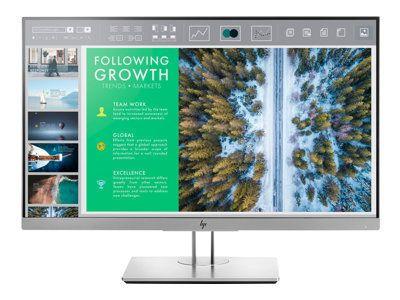 HP EliteDisplay E243 60,4cm 23,8Zoll IPS LED Backlight 5ms 16:9 250cd/m2 VGA DP HDMI Pivot Hoehenv. 3 Jahre Garantie