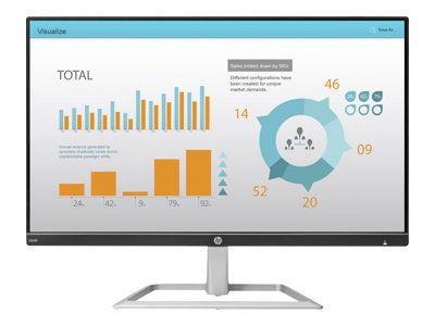 HP N240 60,5cm 23,8Zoll Monitor IPS 5ms 250cd/m2 VGA HDMI 3 Jahre Garantie