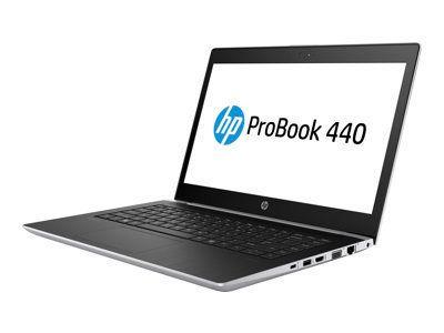 HP ProBook 440 G5 Intel Core i5-8250U 35,5cm 14,0Zoll IPS FHD AG DSC 1x8GB 256GB/M2SSD+1TB/HDD WLAN BT FPR W10PRO64 3J. Gar. (DE)